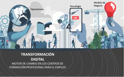 TRANSFORMACIÓN DIGITAL,  EN LOS CENTROS DE FORMACIÓN PARA EL EMPLEO